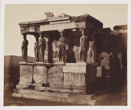 Caryatid Portico, Athens, c 1849.