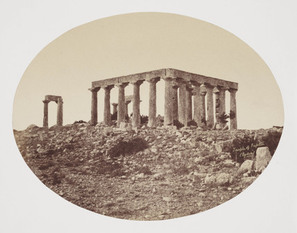 'Egina', Greece, c 1849.