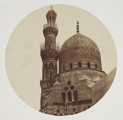 Mosque, Cairo, c 1849.