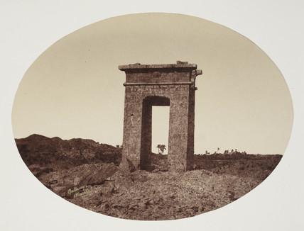 'Gateway Karnack' c 1849.