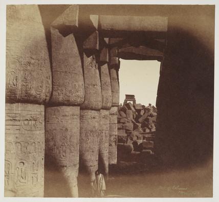 'Hall of Columns Karnack' c 1849.
