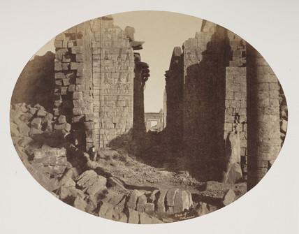 'Hall of Columns', Karnak, c 1849.