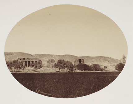 Valley of the tombs of the Kings, c 1849.