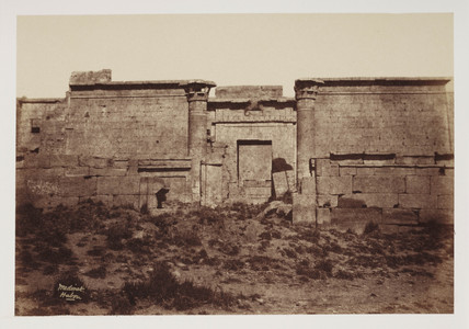 'Medinet Habou', Thebes, c 1849.