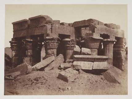 'Ruins of 'Kom Ombos', c 1849.