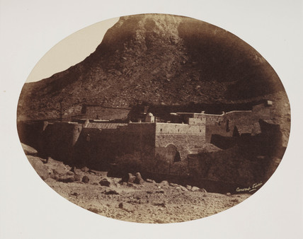 'Convent on Mt. Sinai', c 1849.