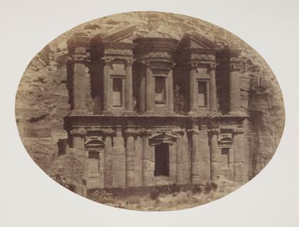 'El Khasneh', Petra, c 1849.