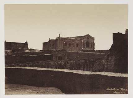 'Bishop Gobats', Jerusalem, c 1849.