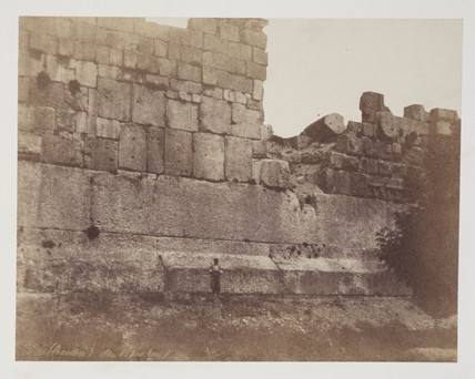 Baalbeck, c 1849.