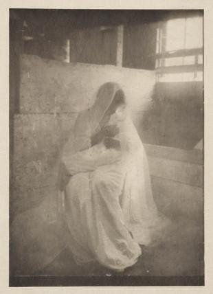 'The Manger', 1902.