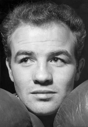 Freddie Gilroy, Northern Irish boxer, June 1962.