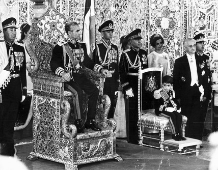 Coronation of the Shah of Iran, 10 November 1967.
