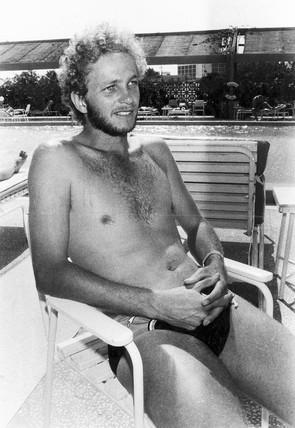 David Gower, 20 August 1985.
