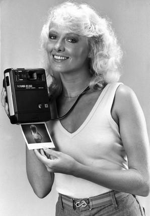 Kodak EK160 instant camera, December 1980.