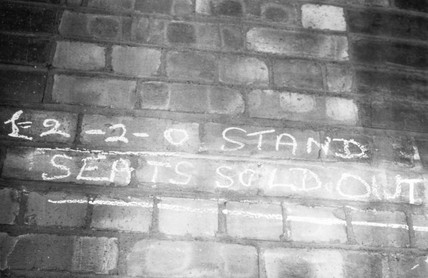 'Seats sold out', July 1966.