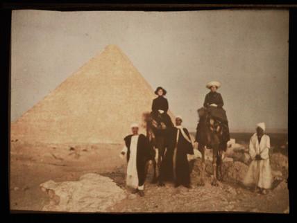 'Kheops Pyramid', c 1914.