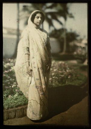 'Portrait, Bombay', c 1914.