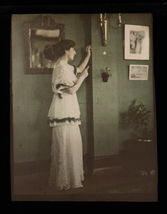 Hotel proprietor, late 19th-early 20th century.