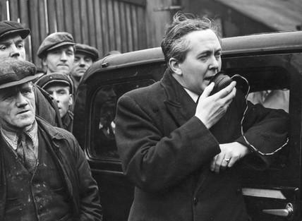 Harold Wilson, February 1950.