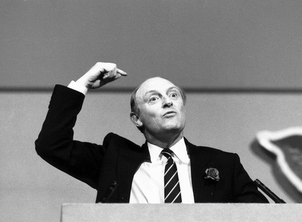 Neil Kinnock, June 1987.