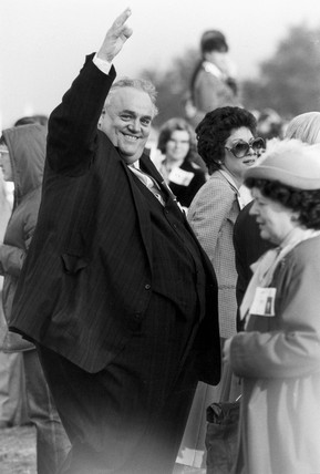 Cyril Smith, British politician, May 1982.