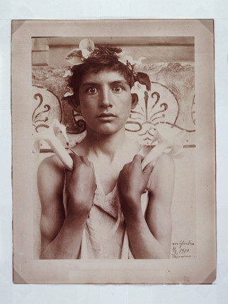Boy with lilies, 1904.