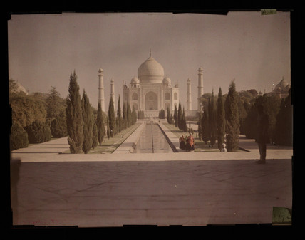 The Taj Mahal, c 1914.