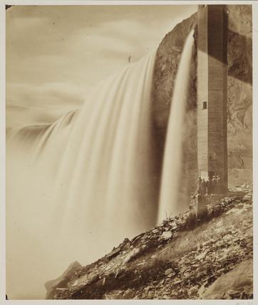 'Niagara Falls', c 1860.
