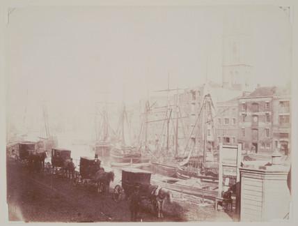 'Bristol Docks', c 1852.