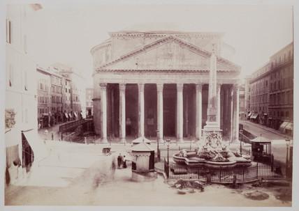 'Pantheon, Rome', c 1870.