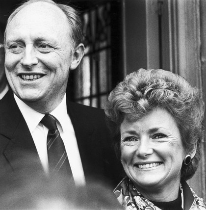 Neil and Glenys Kinnock, 1980s.
