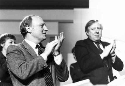 Neil Kinnock and Roy Hattersley, 1980s.