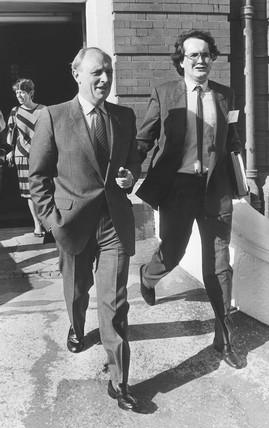 Neil Kinnock, 1980s.