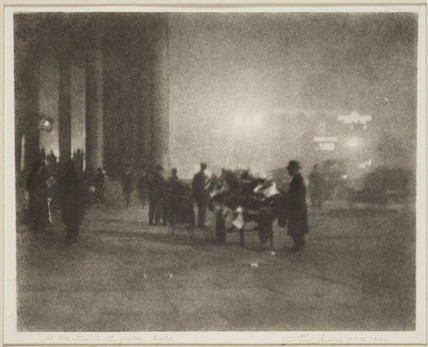 'St Martin-in-the-Fields, Night', 1924.