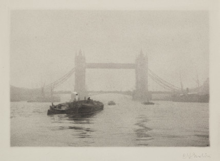 'Tower Bridge', c 1908.