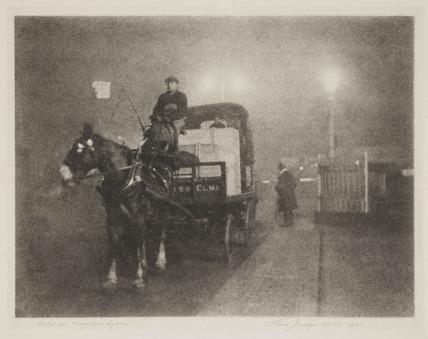 'Held Up. Trafalgar Square', 1923.