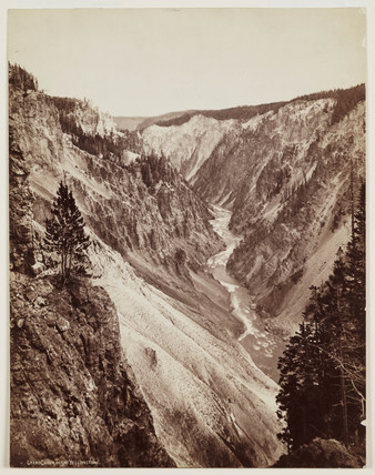 'Grand Canon of the Yellowstone', 1872.