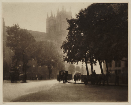 'Autumn Haze, Westminster', 1926.