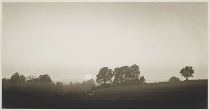'Sunset in the Vale of Devizes', c 1922.