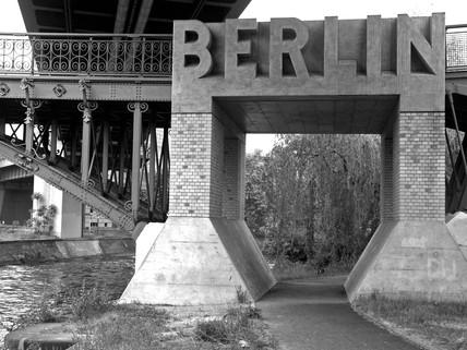 'Berlin' bridge near the Technikmuseum, Berlin, Germany, 2005.