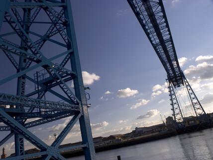 Transporter bridge, Middlesbrough, 2005.