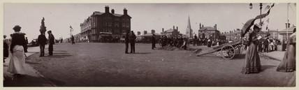 'Street Scene, Scarborough', c 1906.