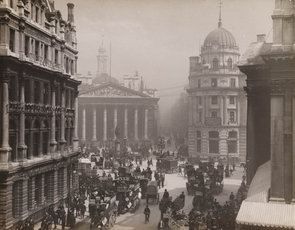 'Royal Exchange, London', c 1905.