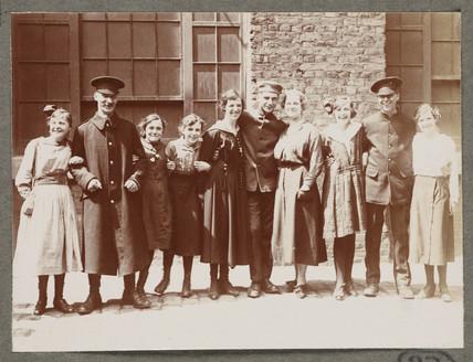 'An Interesting Array of Uniforms...', 1916.