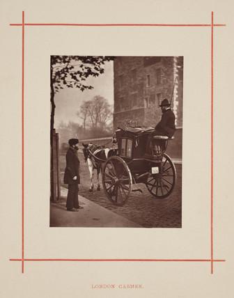 'London Cabmen', 1877.