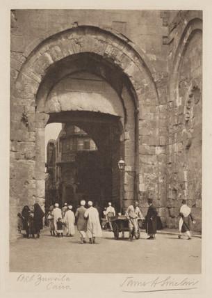 'Bab Zuweila, Cairo', 1936.