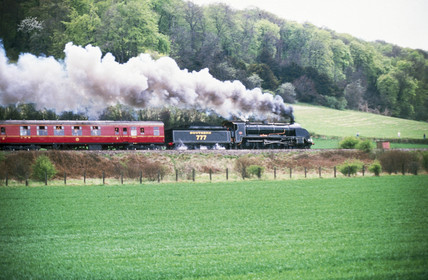 Southern Railways steam locomotive no 777, c 1980s.