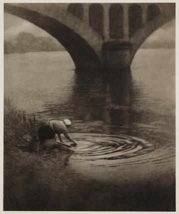 'La Laveuse', 1909.