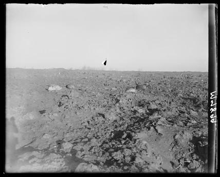 Explosion at munition dump, RAF Fauld, Staffordshire, 29 November 1944.