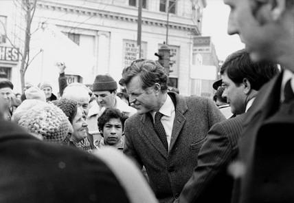 Edward Kennedy, American politician, March 1980.
